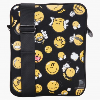 Smiley Print IPad Case