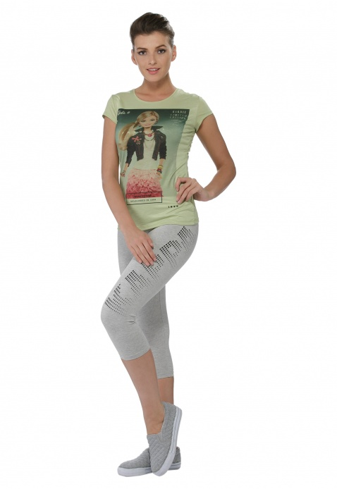 Barbie Graphic Print T-shirt