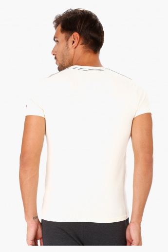 Being Human Printed Cotton T-Shirt in Regular Fit