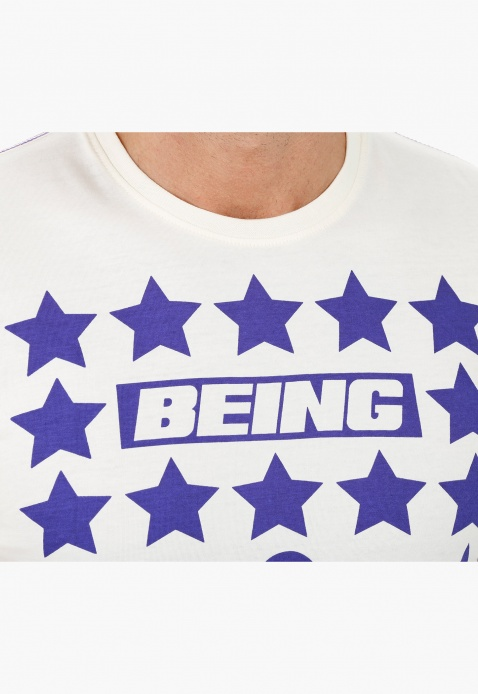 Being Human Printed Crew Neck T-shirt
