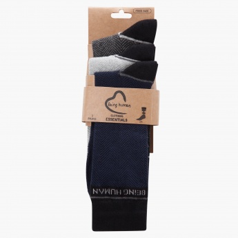 Being Human Crew-length Socks - Set of 3