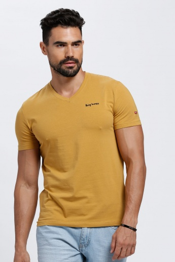Being Human V-Neck T-Shirt