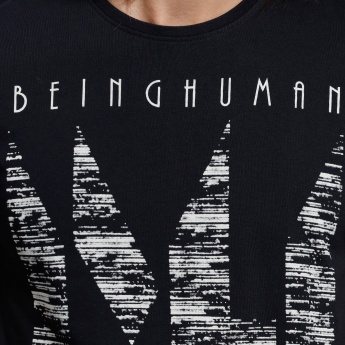 Being Human Printed Short Sleeves T-Shirt