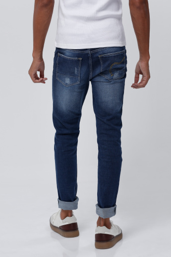 Being Human Full Length Jeans in Regular Fit