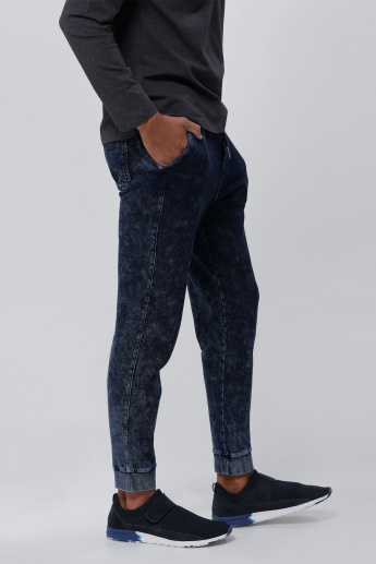 Being Human Textured Cuff Pants