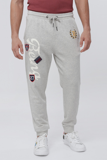 Being Human Full Length Jog Pants with Elasticised Waistband