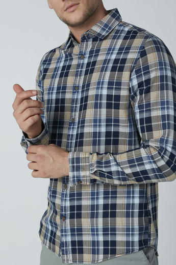 Sustainability Lee Cooper Chequered Shirt with Long Sleeves