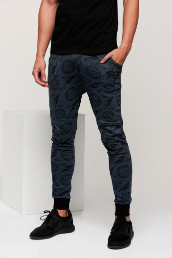 Superman Printed Full Length Jog Pants