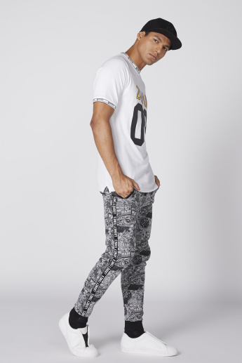 Looney Tunes Printed Jog Pants with Elasticised Waistband