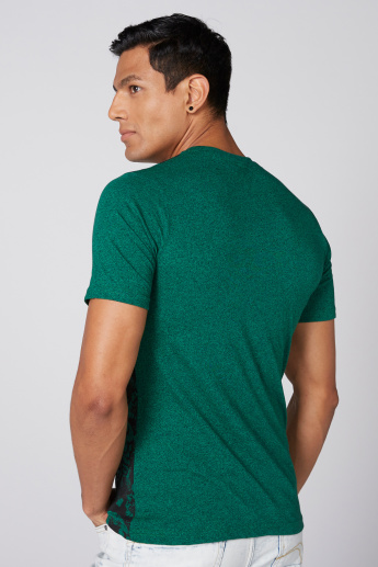 Hulk Printed T-Shirt with Round Neck and Short Sleeves