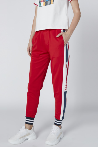 Mickey Mouse Printed Jog Pants with Pocket Detail