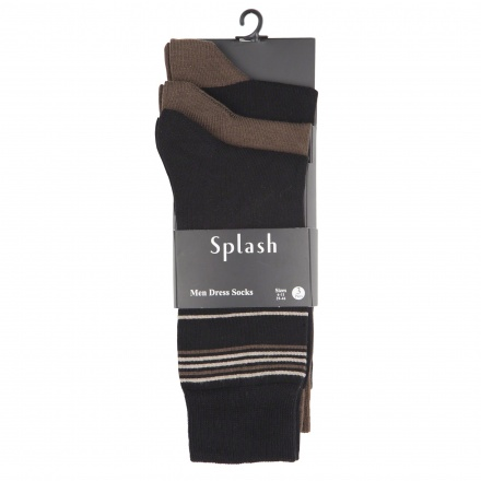 Assorted Dress Socks - Set of 3