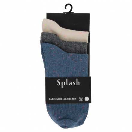 Ankle Socks - Pack of 3
